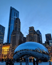 Chicago IL USA The cityscape had some incredible lighting the other night Thanks Chicago you rock