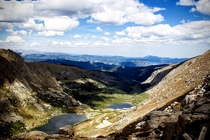 Chicago Lakes viewed from Summit Lake near Mount Evans Colorado