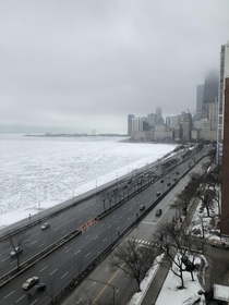 Chicago - Looking south down Lakeshore Drive