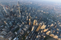 Chicago Sunrise From Above   Iwan Baan
