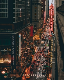 Chicagos Theatre District