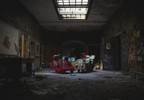 Childrens Playroom at Rockland Psychiatric Center Orangeburg California Photo credit to Collin Armstrong