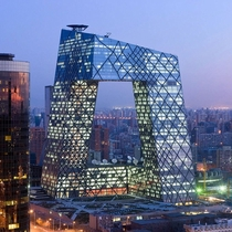 China Central Television Headquarter in Beijing by Rem Koolhaas and Cecil Balmond