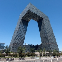 China Central Television Headquarters Beijing China architected by Office for Metropolitan Architecture completed -May-__