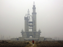 Chinas Fake Disneyland Overgrown and Ghostly