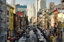 Chinatown New York City  Photographed by Andrew Mace
