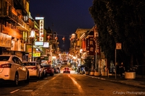 Chinatown San Francisco  x