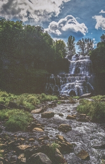 Chittenango Falls in Central New York