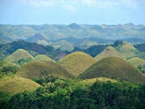 Chocolate Hills Bohol Province Phillipines source unknown