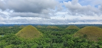 Chocolate Hills in Bohol Philippines  X  OC