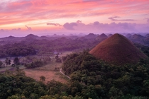 Chocolate Hills in Bohol Province Philippines  Photo by Earl Dieta