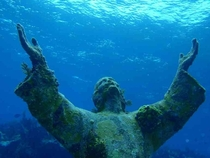 Christ of the Abyss at San Fruttuoso Liguria