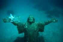Christ of the Abyss - San Fruttuoso Italy