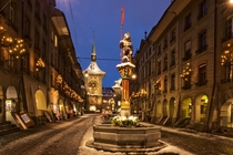 Christmas in Bern Switzerland