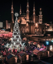 Christmas in Downtown Beirut - Photo by Habib Darwich