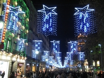 Christmas Lights in Barcelona