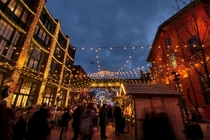 Christmas Market at Torontos Distillery District