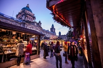 Christmas Market in Belfast