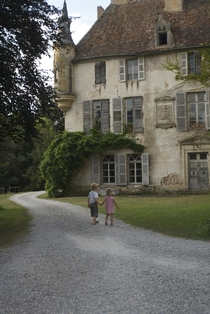 Chteau de Digoine France abandoned for more than  years