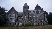 Chteau Wolfenstein - an abandoned castle that used to serve as a care home for political prisoners and WW victims