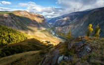 Chulyshman Valley Russia  Photo by Andrei Grachev