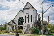 Church in Alabama built  Badly damaged from several tornadoes and abandoned for over a decade