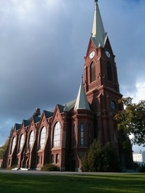 Church in Mikkeli Finland Taken Sept