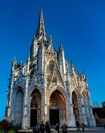 Church of Saint-Maclou in Rouen Normandy France - Flamboyant Gothic style