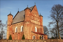 Church of st Michael the Archangel Synkovichi Belarus