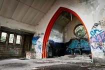 Church on Abandoned Military Base West Germany