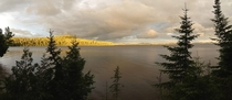 Churchill Lake Panorama