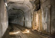 Cincinnati - abandoned subway tunnel