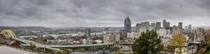 Cincinnati Ohio - Panorama from the top of Mt Adams