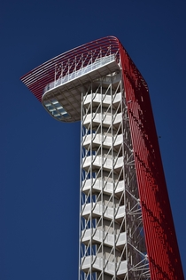 Circuit of the Americas Observation Tower Miro Rivera Architects