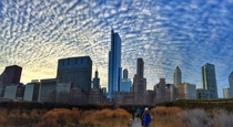 Cirrocumulus Chicago Christmas