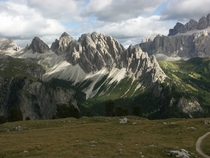 Cirspitzen mountain in South Tyrol Italy
