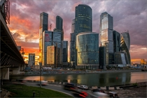 City Centre Moscow Russia