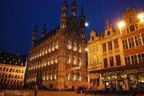 City hall in Leuven Belgium