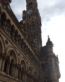 City Hall is an epic building Bradford England