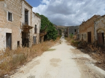 City in Sicily abandoned after earthquake
