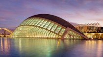 City of Arts and Sciences in Valencia Spain - architecture by Santiago Calatrava