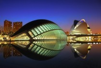 City of Arts and Sciences Valencia Spain By Santiago Calatrava x
