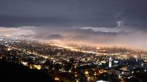 City of Berkeley during lightning storm