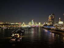 City of London from Waterloo bridge