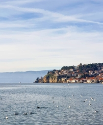 City of Ohrid Macedonia City with  churches UNESCO World Heritage Site More than  years continuously inhabited city