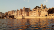 City Palace Udaipur INDIA is a palace complex built over a period of nearly  years from  onwards The palaces within the complex are interlinked through a number of chowks or quadrangles with zigzag corridors planned in this fashion to avoid surprise attac