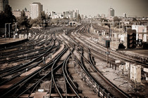 Clapham Junction London - the busiest station in Europe in terms of number of trains passing through  per day
