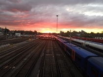 Clapham Junction Railway Station London United Kingdom
