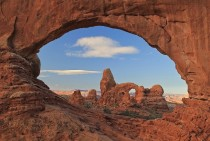 Classic Earth Porn - Turret Arch through North Window Arches NP -
