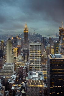 Classic Shot of Manhattan